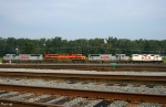 KCS Locomotives in KCS Knoche Yard